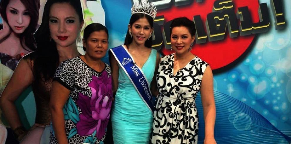 De recolectora de basura a Miss Tailandia 2015