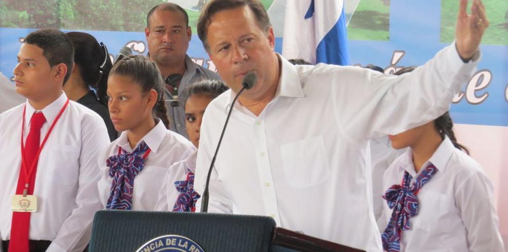 El presidente Varela propone iniciar la integración en Chiriquí