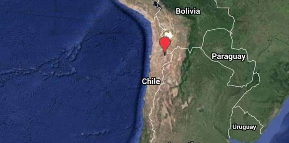 Sismo de magnitud 6,3 estremece norte de Chile
