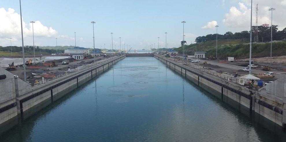 Se inician pruebas hidráulicas en la ampliación del Canal