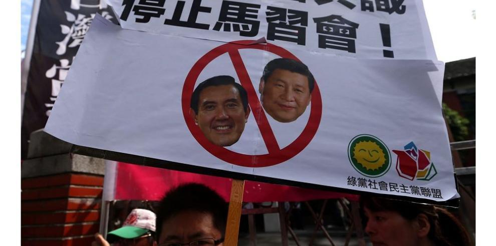 Presidentes de China y Taiwán se reunirán el sábado en Singapur