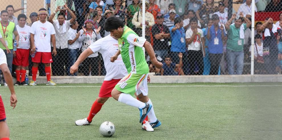 Equipo de Evo Morales derrotó 12-2 a Panamá