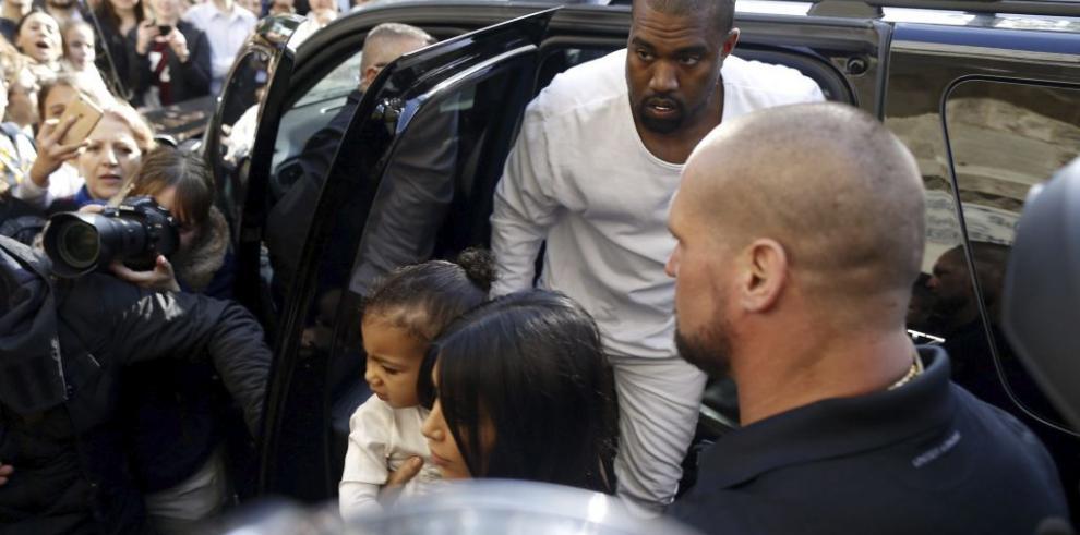 Kim Kardashian y su marido Kanye West de visita en Israel