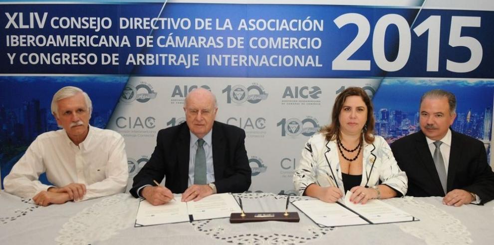 AICO y SIECA firman convenio de cooperación técnica