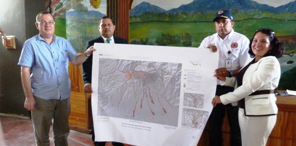 El Volcán Barú no ha dado indicios de erupción, según Sinaproc