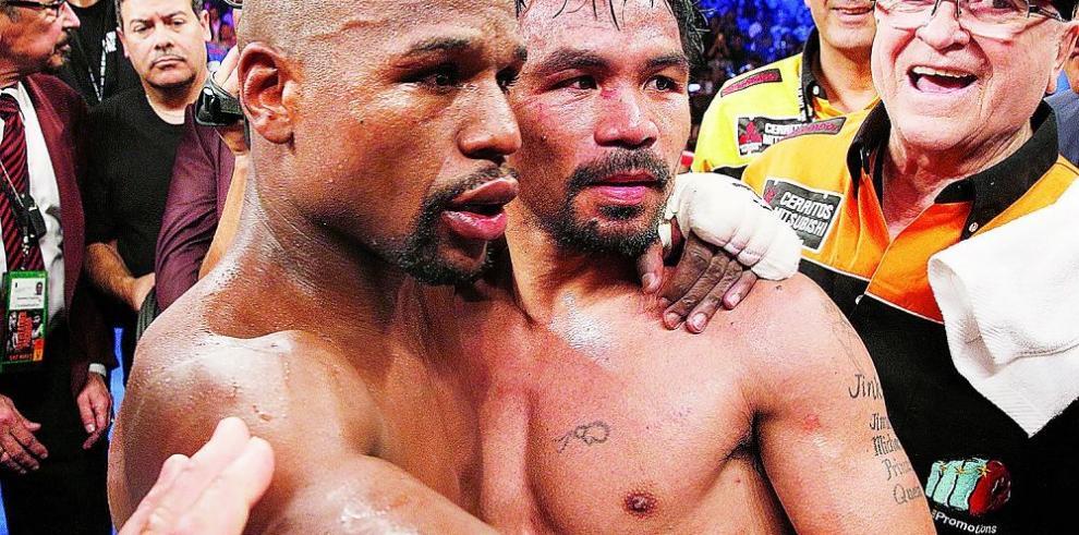Floyd y Pacquiao, el 1-2 de deportistas mejores pagados