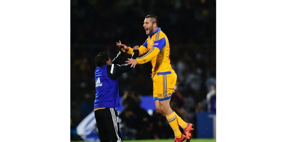Tigres se consagran campeonesdel Apertura 2015 en Liga MX