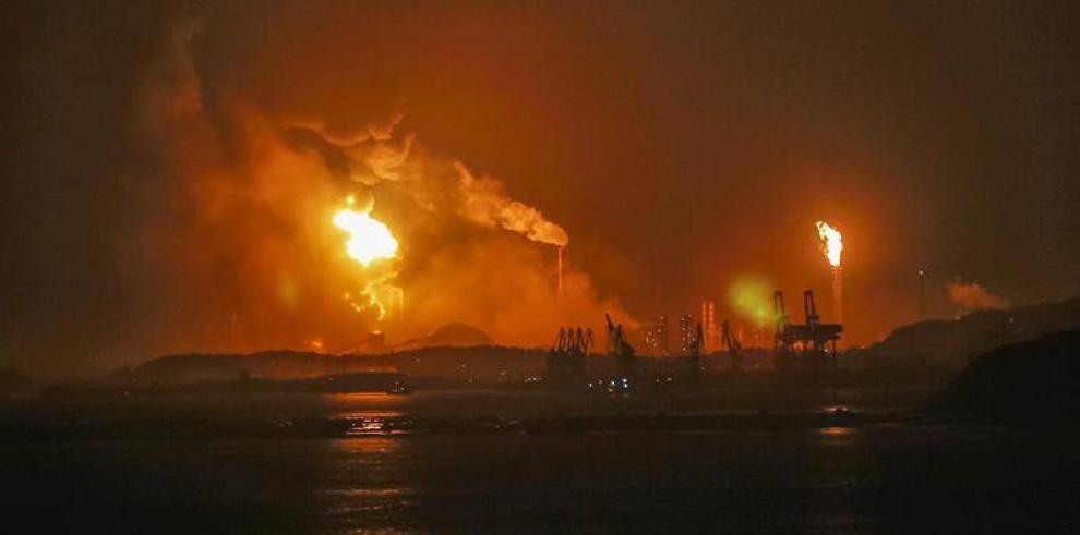 Explosión de una fábrica química en China deja 6 heridos
