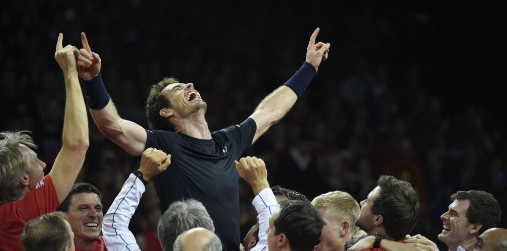Los británicos levantan la Copa Davis este año