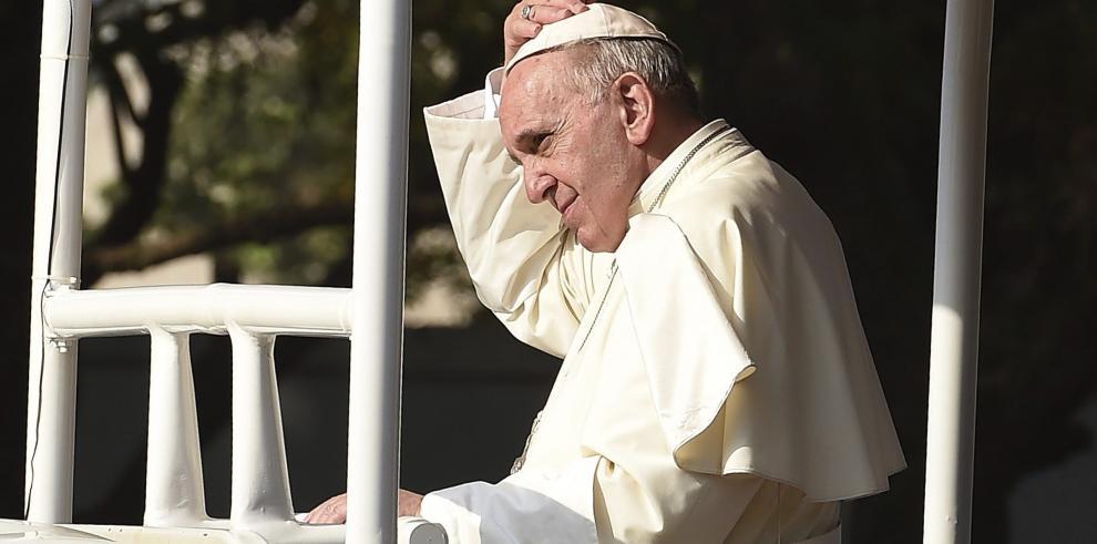 El papa Francisco pide acuerdo en París