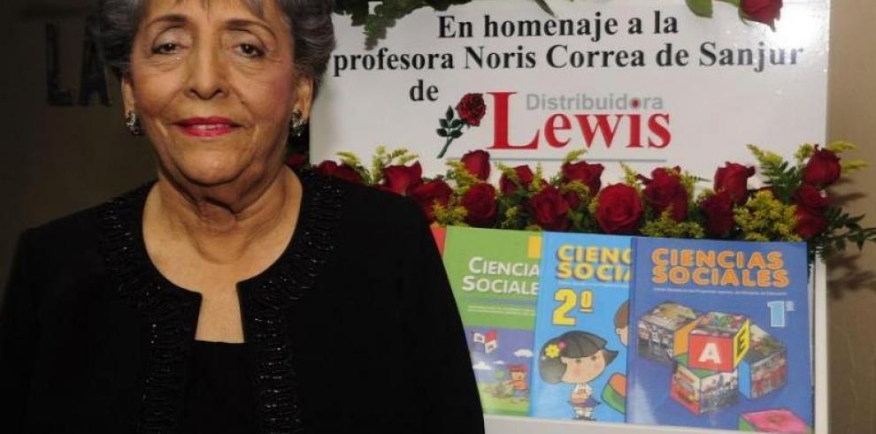 Honras fúnebres de Noris Correa de Sanjur serán el 29 de abril