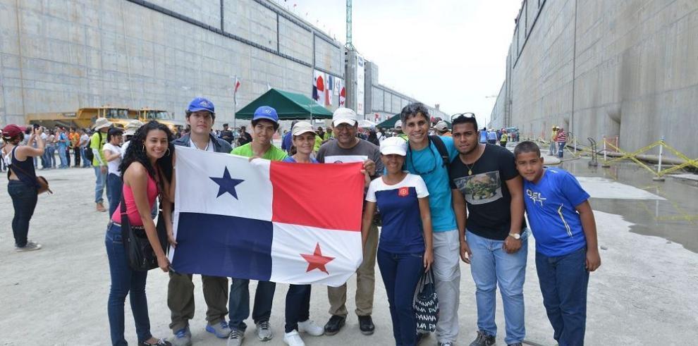 Panameños visitarán el canal ampliado
