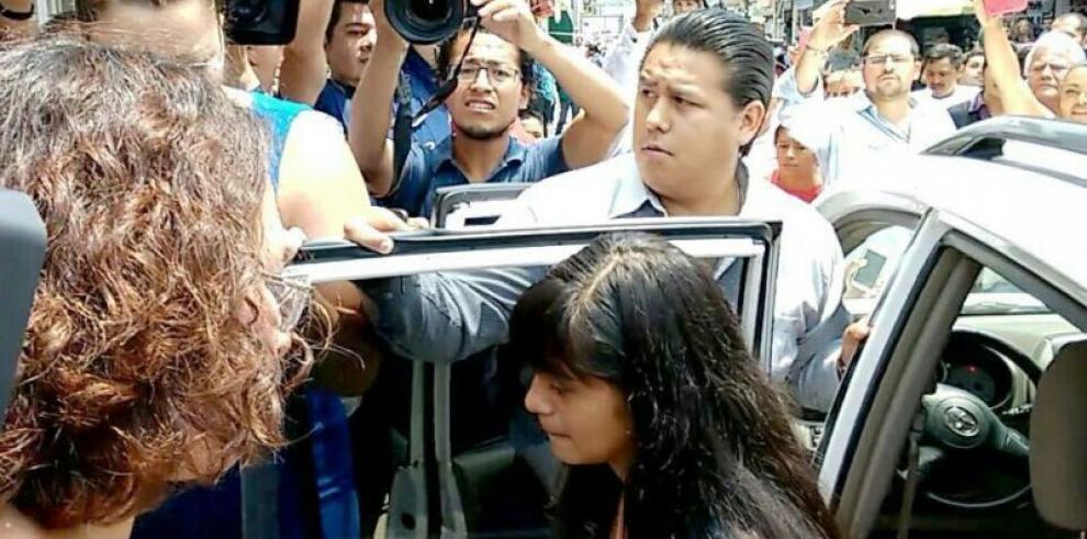 Tensa audiencia en México por caso de la niña Alondra