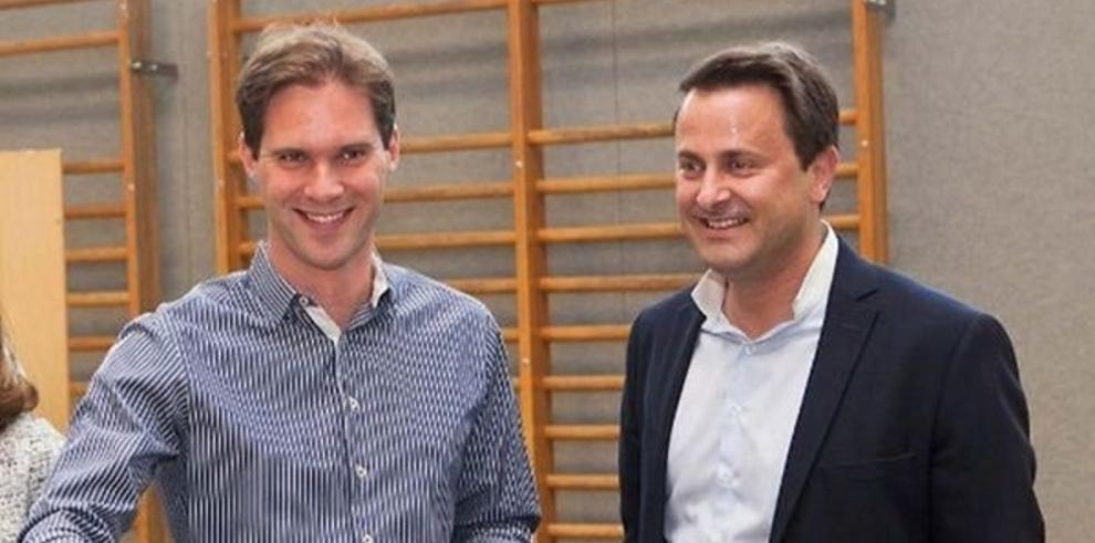 Primer ministro de Luxemburgo Xavier Bettelse casa con su novio