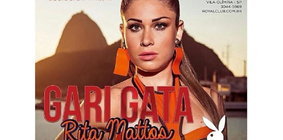 """La sexy barrendera de Brasil es portada de larevista """"Playboy"""""""