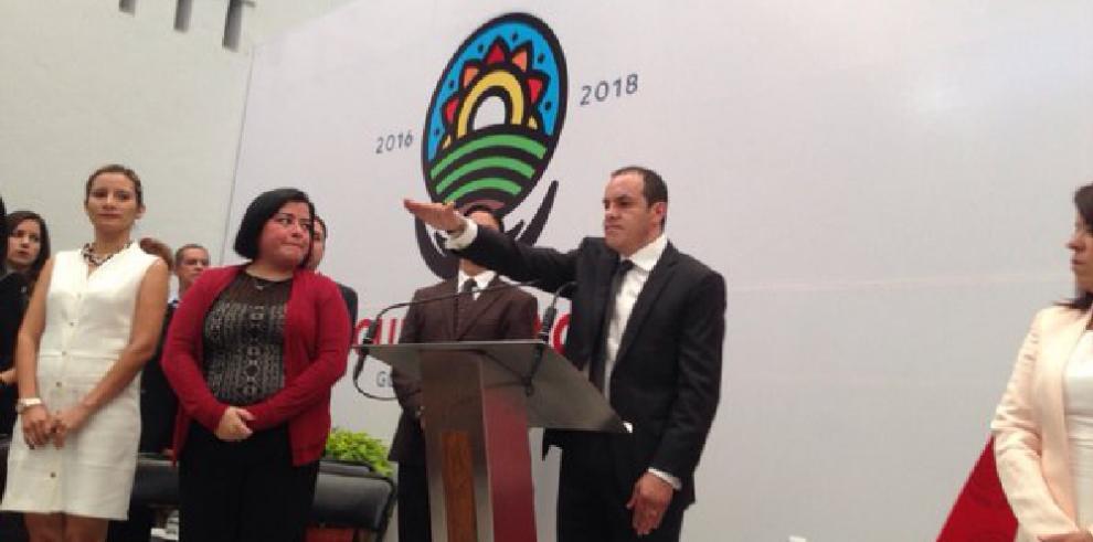 Exfutbolista mexicano Cuauhtémoc Blanco, alcalde de Cuernavaca