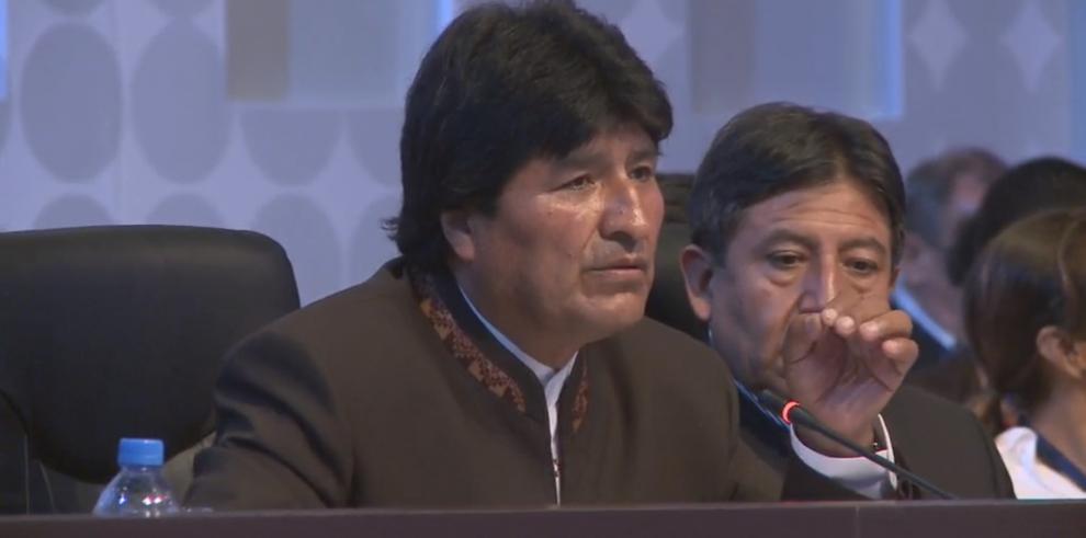 """""""EE.UU continua viendo a nuestra región como su patio trasero"""": Morales"""