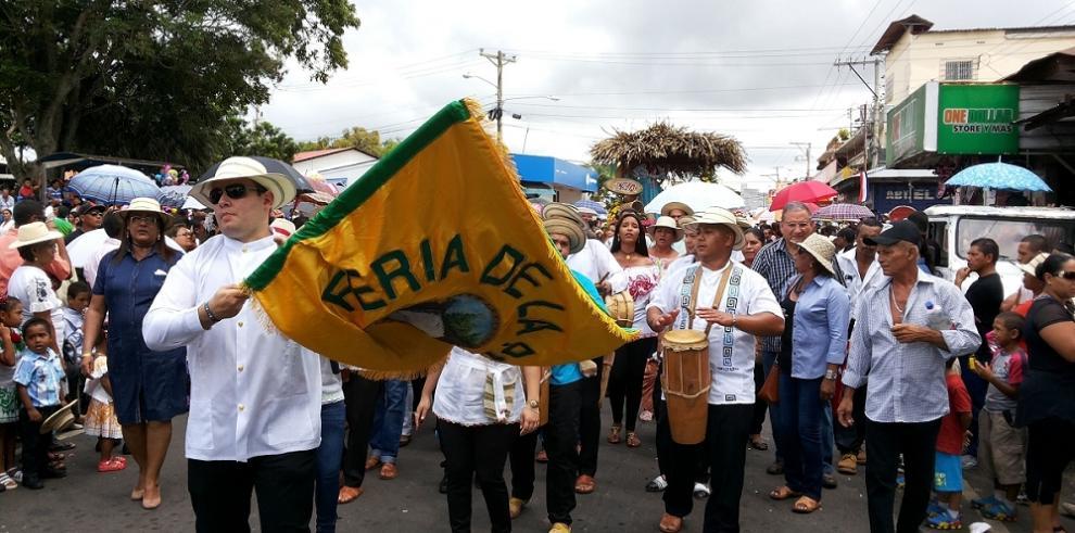 La Chorrera también festejó los 194 años del grito de independencia