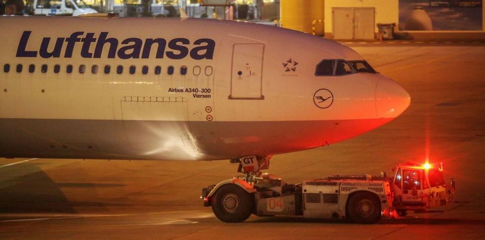 Lufthansa afectada por huelga de personal