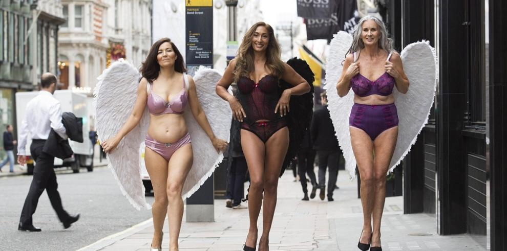 Protestan contra modelos deVictoria's Secret