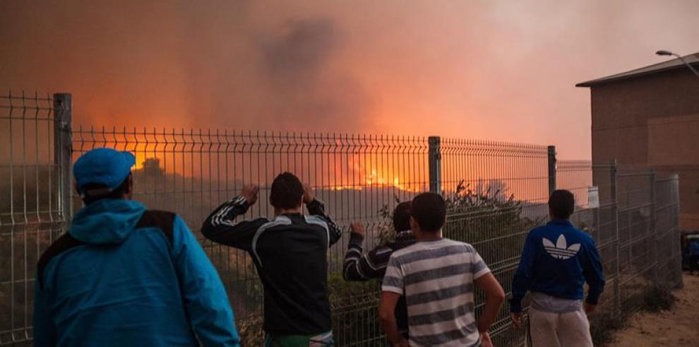 Chile: Viña del Mar y Valparaíso en estado de emergencia por incendio