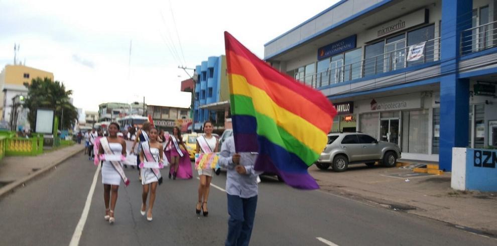 Chorreranos marchan para se reconozca la diversidad sexual
