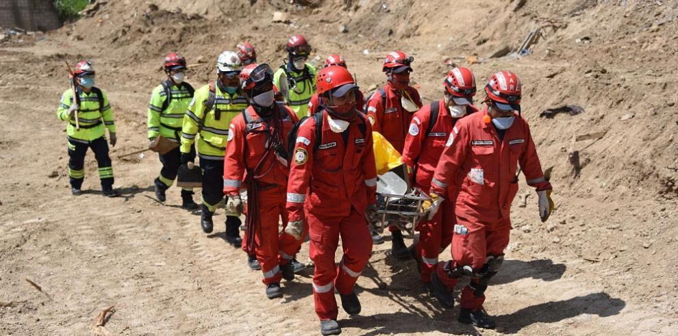 Reportan un muerto y 156 damnificados por lluvias en Guatemala