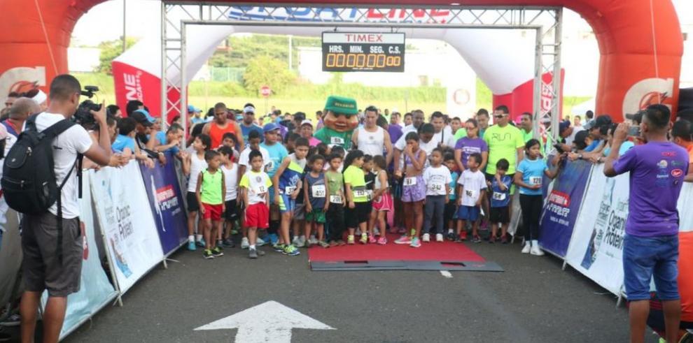 Todo un éxito primera carrera caminata 5K de San Miguelito