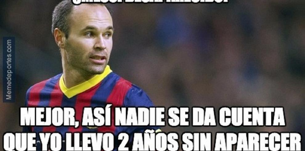 Memes que dejó el clásico Barcelona -Real Madrid
