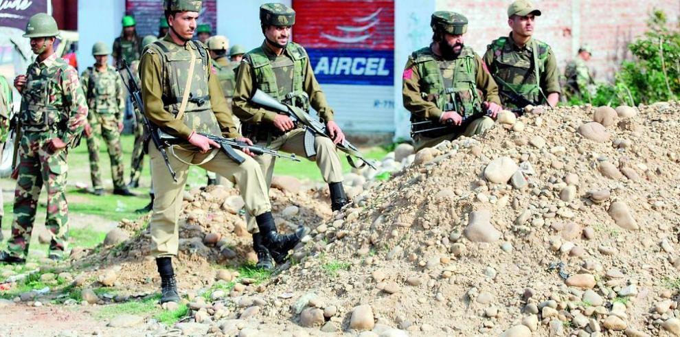 Conflicto Enfrentamiento en la Cachemira india