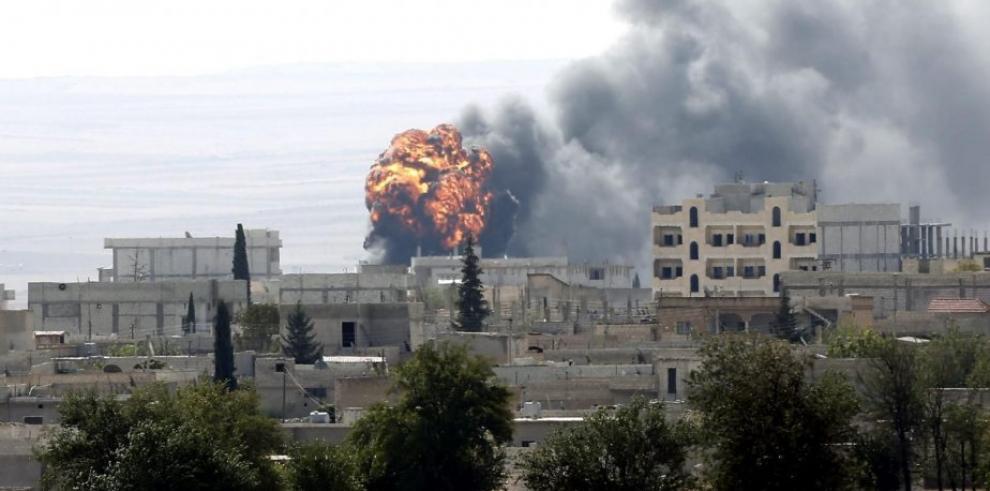 Aviones franceses bombardean el este de Siria