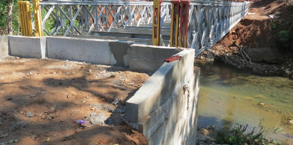 Trabajos del puente sobre el río Santiago están por culminar