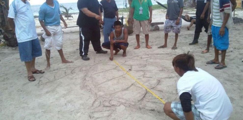Pobladores de Guna Yala aprenden sobre tortugas