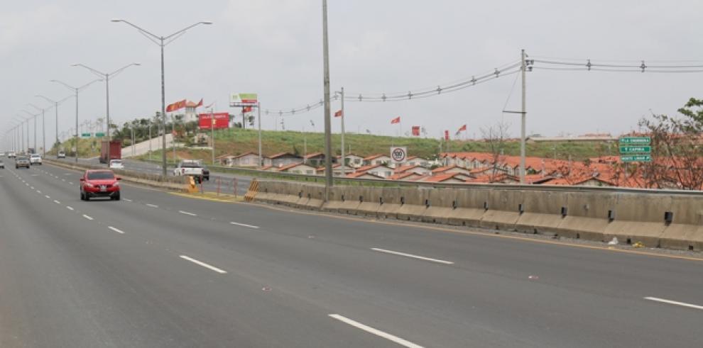 Ampliarán inversión de carriles en Panamá Oeste, hasta Costa Verde