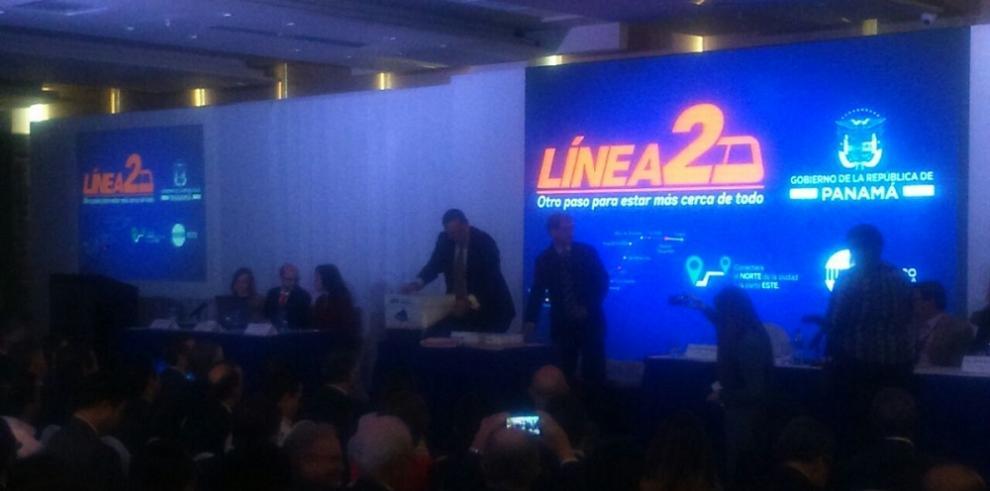 Odebrecht y FCC ganan licitación de la Línea 2 del Metro de Panamá