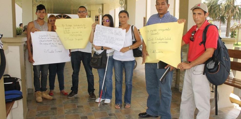 Discapacitados reclaman empleo y derechos