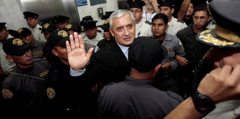 Expresidente de Guatemala Otto Pérez Molina apela prisión preventiva