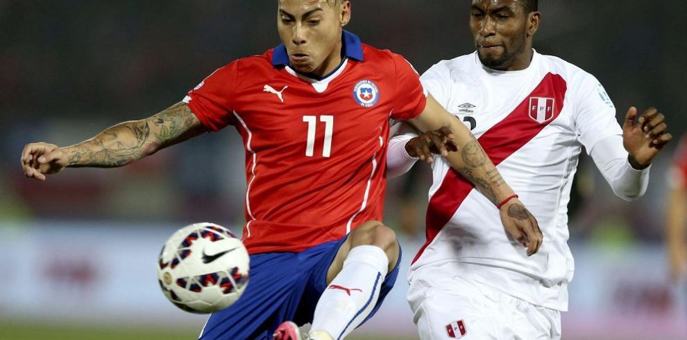 Con sus goles, Eduardo Vargas es la nueva sensación en Chile