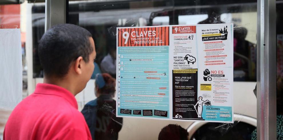 Campaña pública a favor de institutores