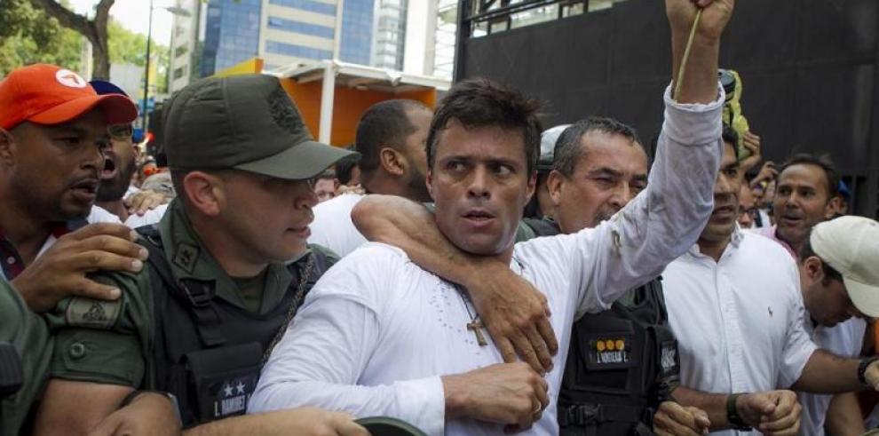 CIDH pide a Venezuela que publique la sentencia contra Leopoldo López
