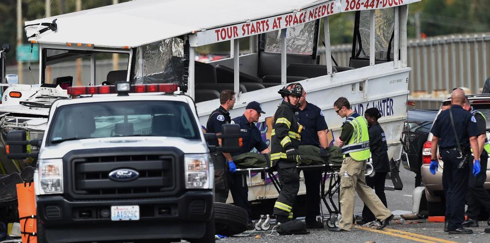 Cuatro muertos en EEUU en accidente de autobús con alumnos extranjeros