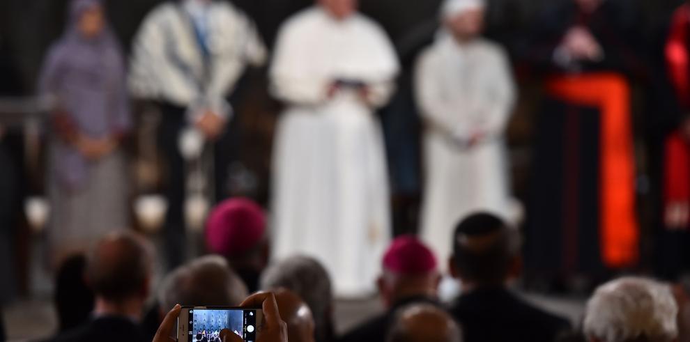 Oración interreligiosa por la paz en la