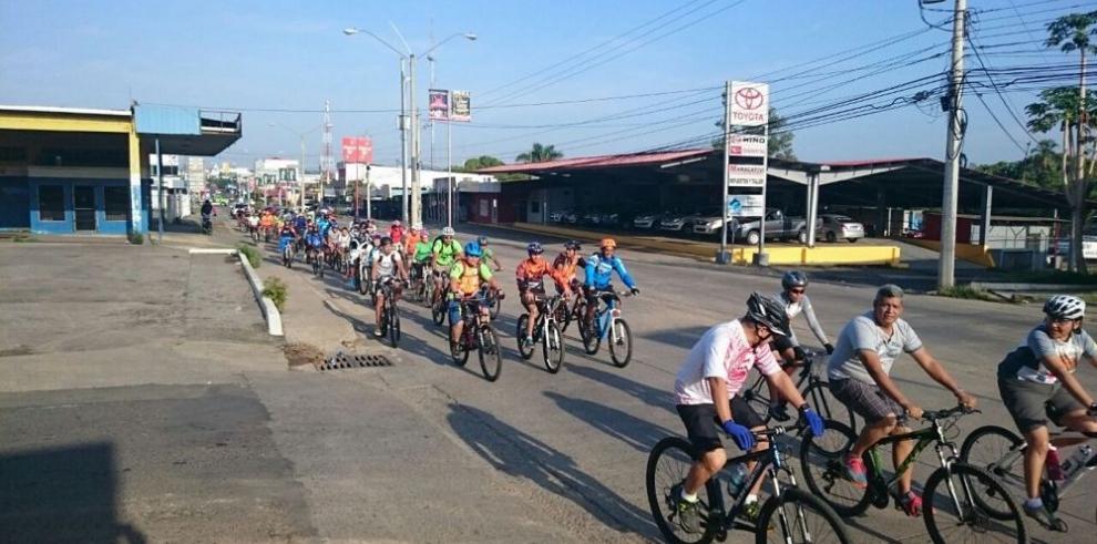 Pedalistas listos para alternar en Veraguas