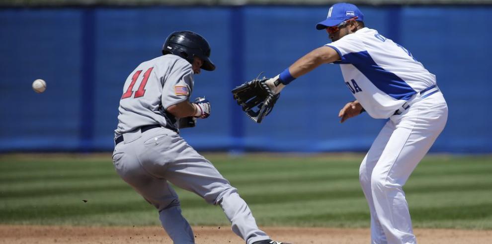 EE.UU. vence a Nicaragua en béisbol con gran trabajo de Thompson