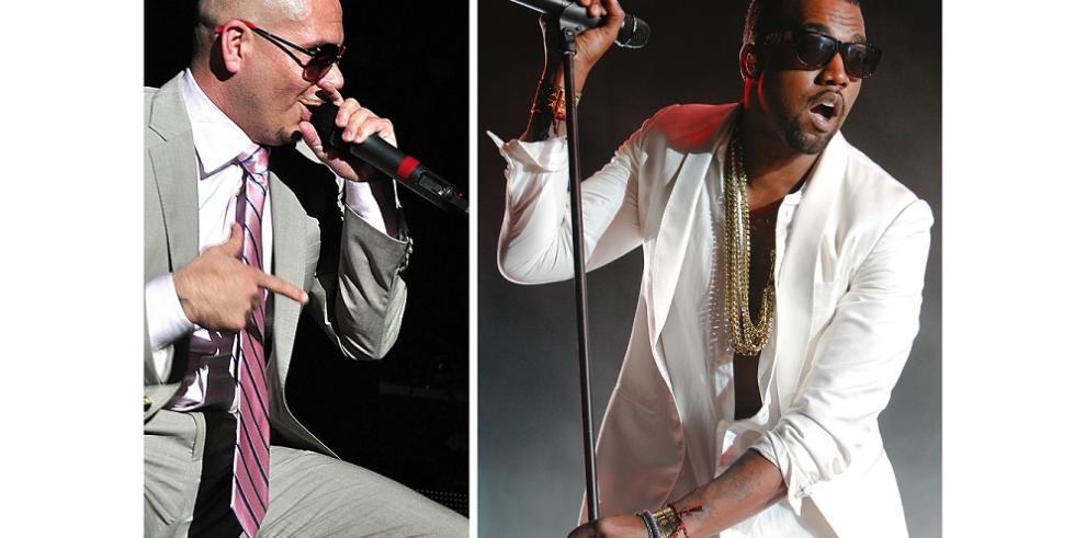 Kanye West y Pitbull presentarán en los Juegos Toronto