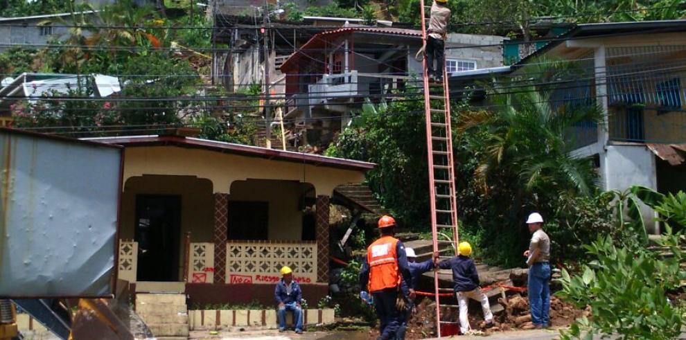 FTC inicia demolición de viviendas en Samaria