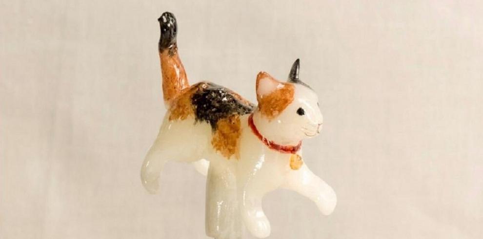 Esculturas hechas de caramelo