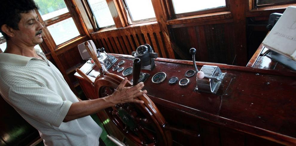 Pasear por el Canal de Panamá en el barco del mafioso Al Capone