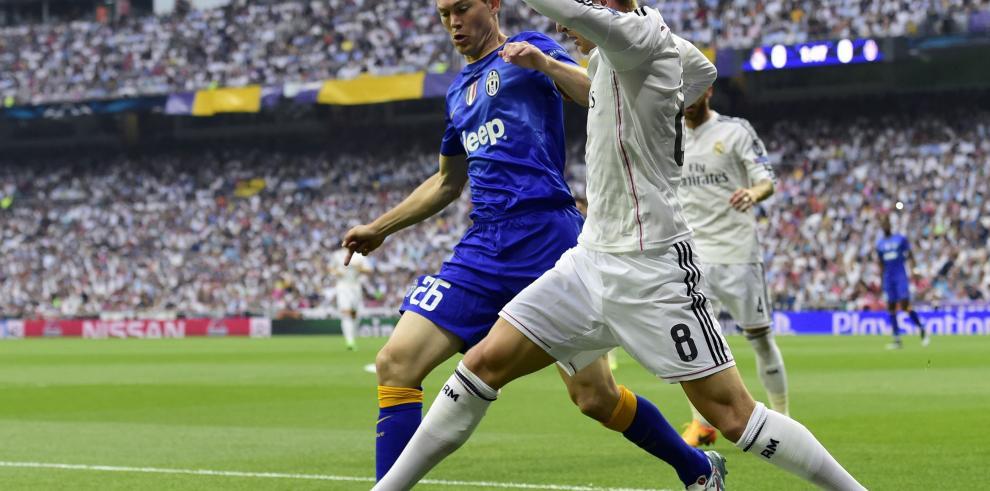 Juventus en la final de la Liga de Campeones