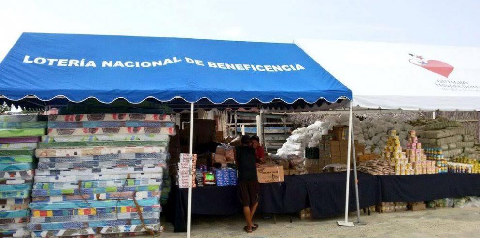 LNB entrega donaciones en la comarca Guna Yala